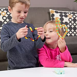 tangle toy snake and infinity cube