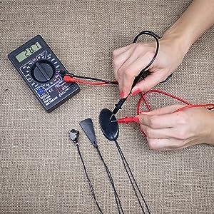 und Energieausbalancierung Verwendet EMF-Schutz-Anh/änger Shungit-Anh/änger mit Halskette Schungitstein-Schmuck ist Trendy und Wird f/ür Chakra