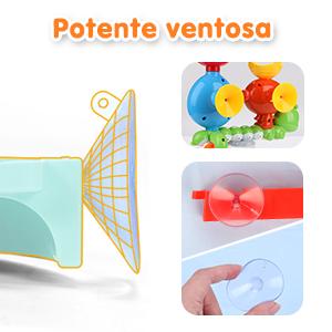 juguetes bañera