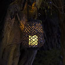 outdoor candles with timer waterproof