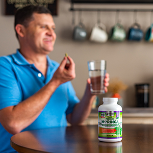 moringa powder leaf oleifera pure tree protein root extract olifeira raw vegan leave weight loss