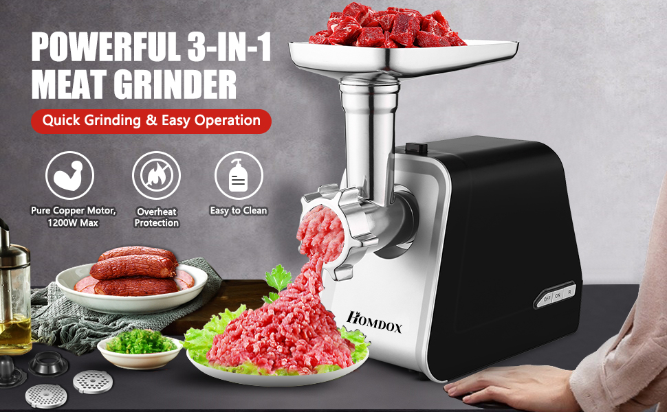 Electric Meat Grinder 2000W