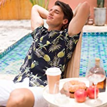 pineapple shirts,hawaiian shirts for men pineapple,floral print shirt men,men hawaiian shirts,
