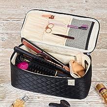 large cosmetics bag, cosmetics organizer, toiletry organizer, hair accessories organizer