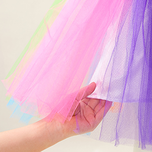 Rainbow Tutu Dress for Girls