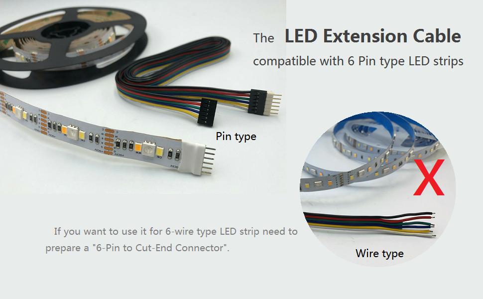 6pin led strip light