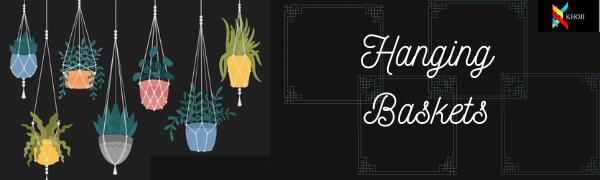 Hanging planters, hanging pots, planters, pots, pots with chains, planters with chains, with chains