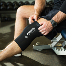 Freeze Sleeve, Easy, Usage, mess free, range, motion, cold, compression, therapy, athletes, injury