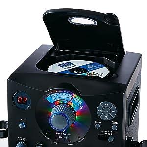 Amazon.com: Singing Machine SML385BTW Top Loading CDG ...
