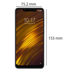 Xiaomi POCOPHONE F1 Dual SIM - 64GB, 6GB RAM, 4G LTE