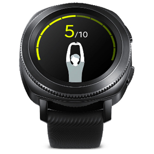 Samsung Gear Sport Smart Watch - Black