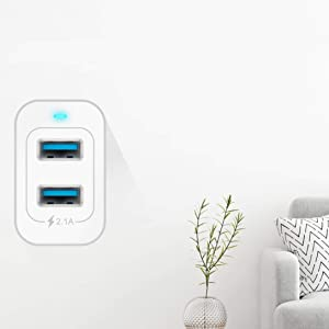 dual usb, fast wall charger, phone charger, usb charger