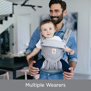 Amazon Com Ergobaby Carrier 360 All Carry Positions Baby Carrier