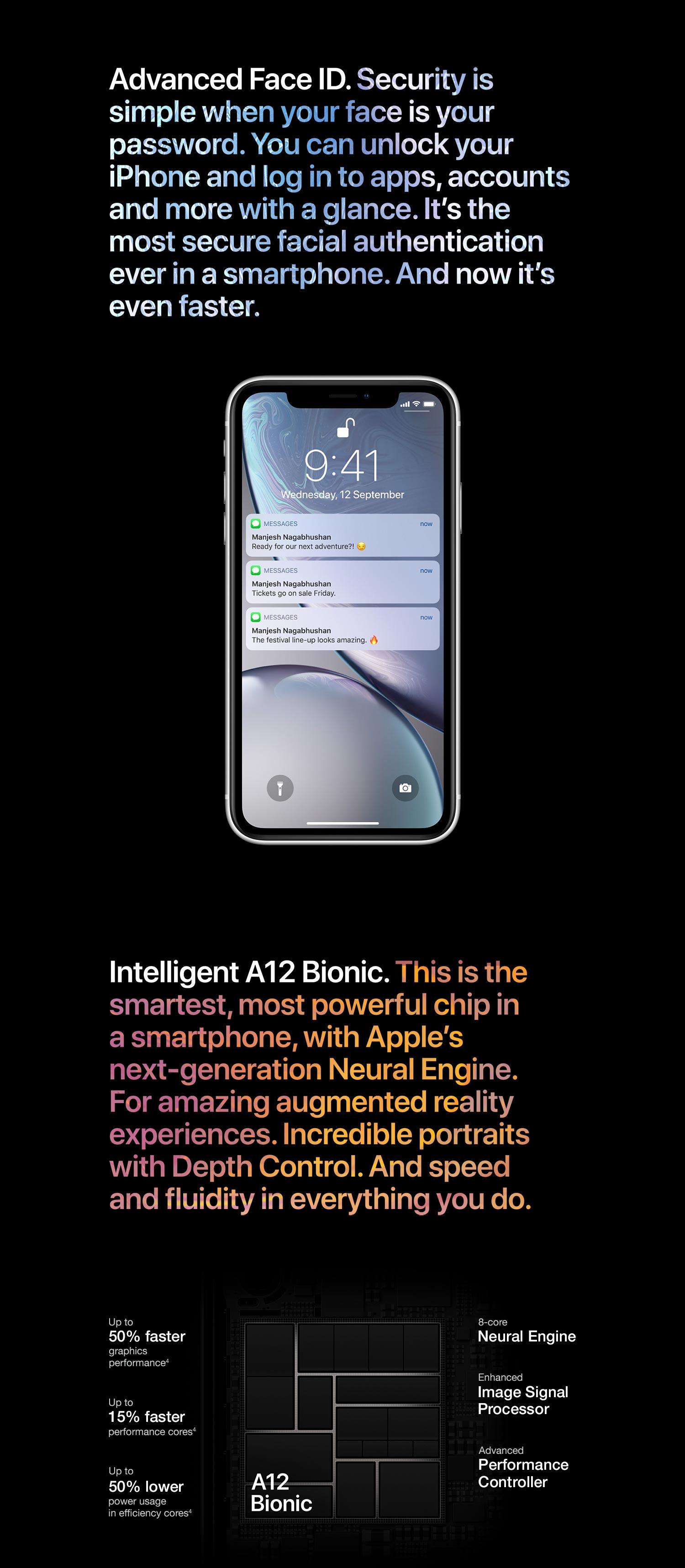4f184ec0cb3 Apple iPhone XR (64GB) - Black  Amazon.in  Electronics