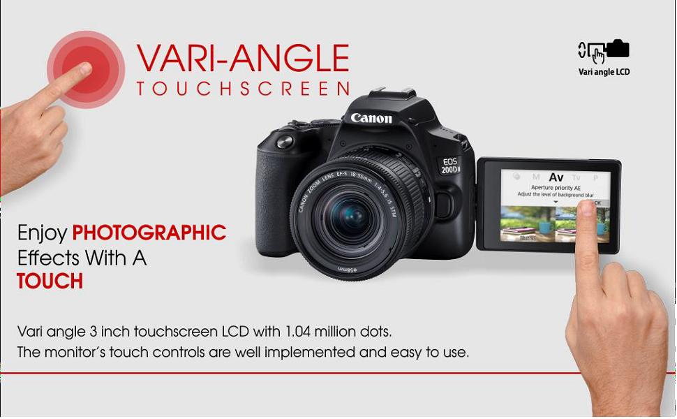 Canon EOS 200DII
