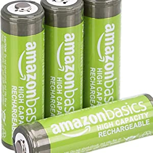AmazonBasics AA and AAA rechargeable batteries