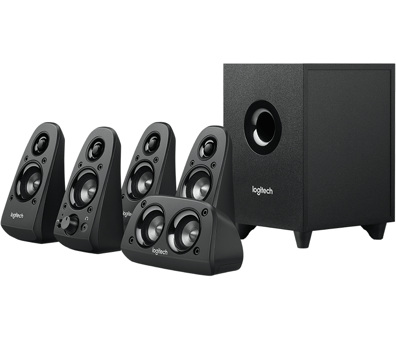 logitech z506 surround sound speakers with. Black Bedroom Furniture Sets. Home Design Ideas