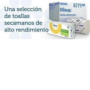 Las toallas de papel reducen los gérmenes en hasta un 77%.