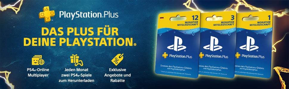 Playstation Plus Mitgliedschaft 12 Monate Deutsches Konto