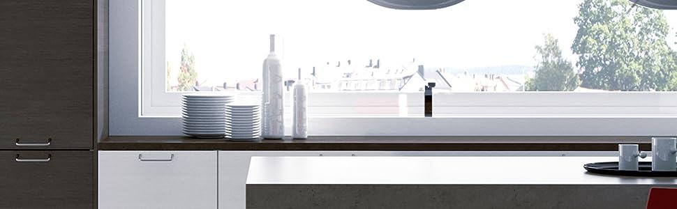 Jata V140 cocina vitroceramica, 2000 W, 6 litros, Vitrotek, Negro y azul