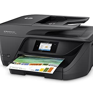 HP OfficeJet Pro 6960 - Impresora multifunción (tinta color, WiFi, fax, copiar, escanear, impresión a doble cara, 600 x 1200 ppp, incluido 3 meses de ...