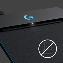 LOGICOOL ロジクール G-PMP-001 ワイヤレス 充電システム POWERPLAY ワイヤレス充電 Windows対応 マウスパッド G703/G903対応 LIGHTSPEED採用