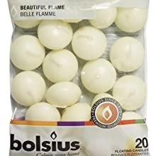 Bolsius Floating candles Ivory