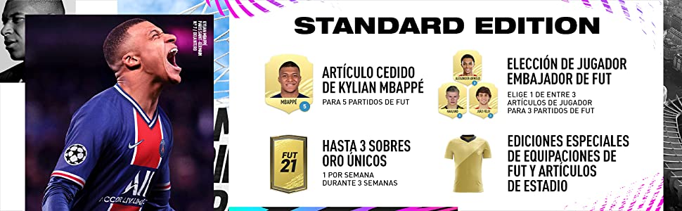 FIFA 21 Standard Edition - PS4: Amazon.es: Videojuegos