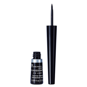 Rimmel London Exaggerate Liquid Eyeliner - Black