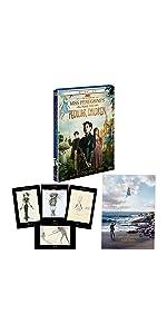 【Amazon.co.jp限定】ミス・ペレグリンと奇妙なこどもたち 2枚組ブルーレイ&DVD (A3サイズポスター+ポストカードセット付き)(初回生産限定)
