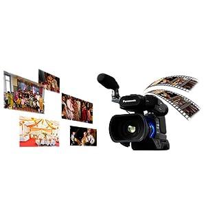 Panasonic HC-MDH2 1080p Full HD Flash Memory Camcorder - 21x Optical Zoom, Black