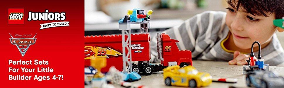 レゴ(LEGO)ジュニアディズニーカーズフロリダ500ファイナル・レース