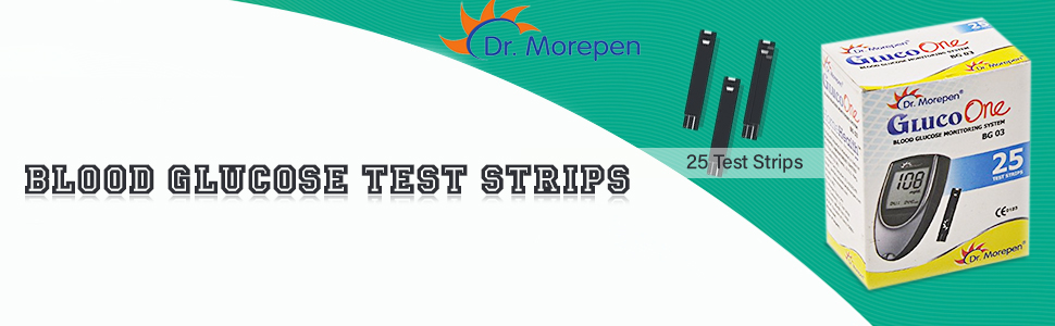 Dr. Morepen BG-03 Blood Glucose Test Strips