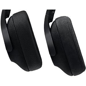 Logitech G433 7.1 Wired Surround Gaming Headset, Triple Black - 981-000668