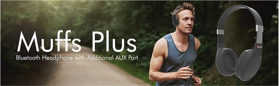 7ff0fbf4b74 Portronics POR-762 Muffs Plus Wireless Bluetooth: Amazon.in: Electronics