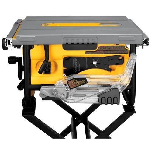 dewalt dwe7480xa 10 in portable table saw with table saw. Black Bedroom Furniture Sets. Home Design Ideas