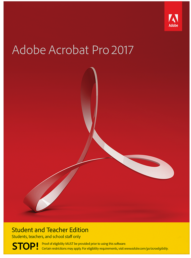 Adobe acrobat standard dc student and teacher edition discount