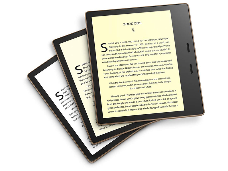 oasis kindle screen