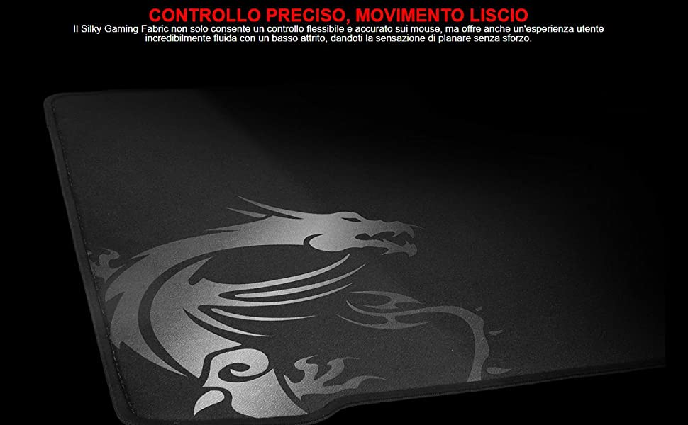 MSI Agility GD70 - Tappetino per mouse