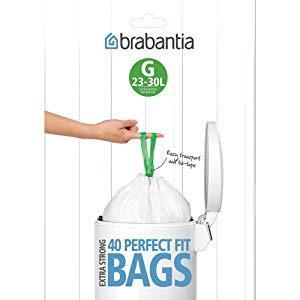 Brabantia 375668 Bin Liners Dispenser Pack, 23/30-Liter