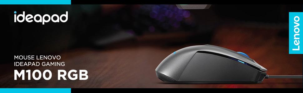 mouse lenovo ideapad gaming M100 RGB gamer