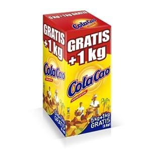 ColaCao Original - Cacao soluble, 5 kg + 700 gr