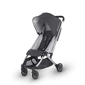 2018 UPPAbaby MINU Stroller - Jordan (Charcoal Melange/Silver/Black Leather)