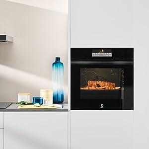 Balay 3CG5172A0 - Microondas integrable / encastre con grill, 800 W / 1000 W , color gris