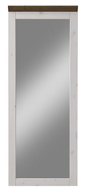 B//H//T Kiefer massiv 52 x 144 x 7 cm Steens Monaco Garderobenpaneel wei/ß grau