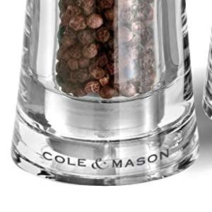 Cole and Mason Bobbi salt and pepper mills, salt n pepper, cole amp; mason, silver mills