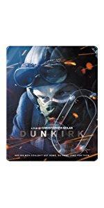 【Amazon.co.jp限定】ダンケルク <4K ULTRA HD&ブルーレイセット> スチールブック仕様(3枚組)
