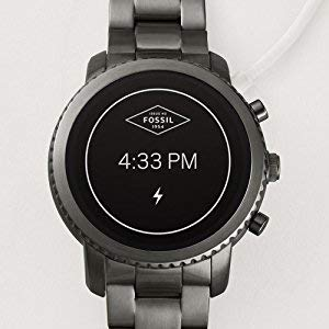 Fossil Smartwatch para Hombre con Correa en Cuero FTW4016: Amazon ...