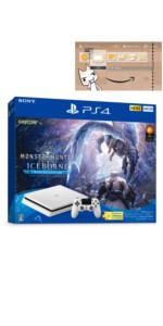 """PlayStation 4 """"モンスターハンターワールド: アイスボーンマスターエディション"""" Starter Pack White(Amazon限定特典付)"""