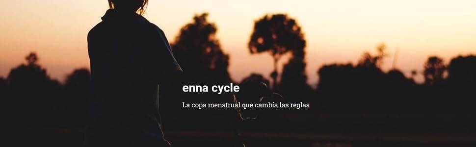 ENNA CYCLE Copa Menstrual Talla L 2 Copas + Esterilizador: Amazon ...